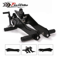 CNC Motorcycle Footrest Adjustable Motor Rearset Rear Set Foot Pegs For Kawasaki Z800 2013 2014 2015 2016