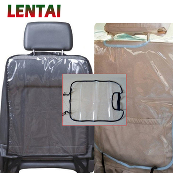 LENTAI For BMW e46 e39 e90 e60 e36 f30 f10 e30 x5 e53 f20 Ssangyong Land Rover 1PC Car Seat Back Children Anti Kick Mat Cover image