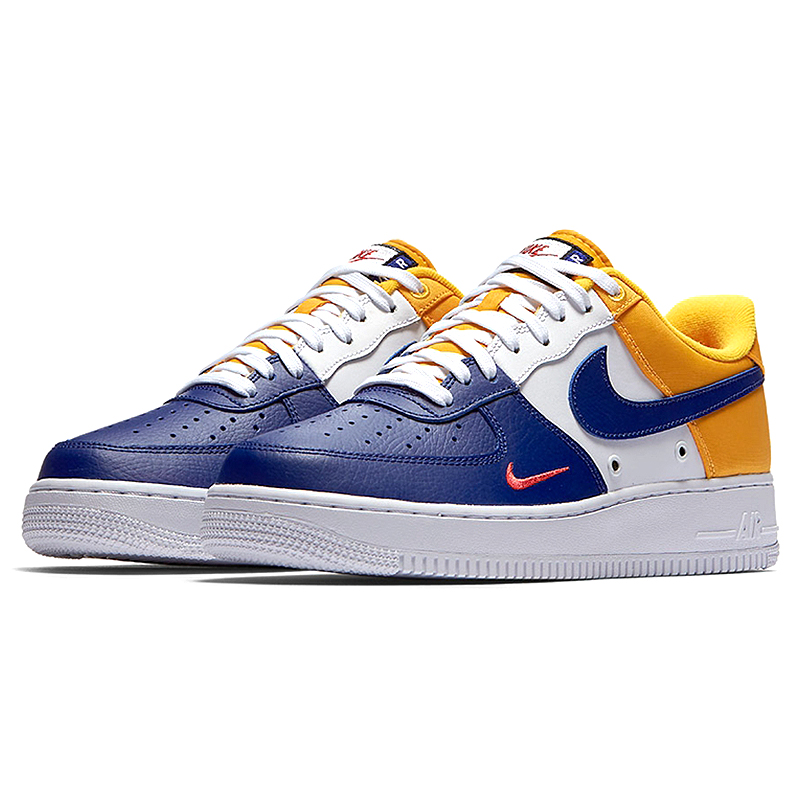 US $74.46 49% OFF|Original Authentic Nike Air Force 1 Low Mini Swoosh Men's Skateboarding Shoes Sport Outdoor Sneakers 2018 New Arrival 823511 603 in