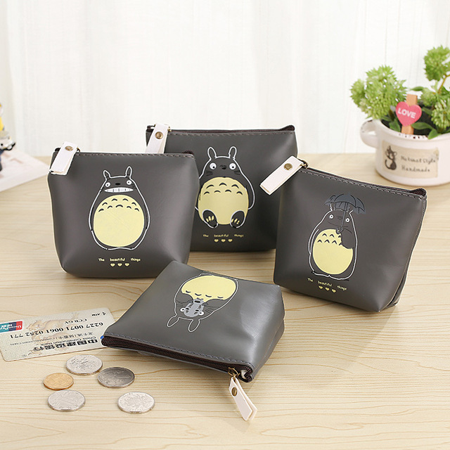 Cute Totoro Wallet PU Leather Purse