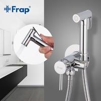 Frap Bidet Faucets Brass Bathroom shower tap bidet toilet sprayer toilet washer mixer muslim shower ducha higienica F7505 2