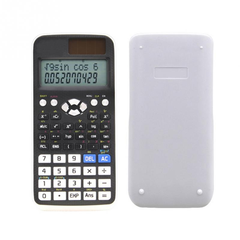 Scientific Handheld Multi-function Calculator Students Stationary Calculating Tool
