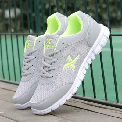 Gris Más 46 Adultos B155 Hombres Transpirable Zapatos azul Azul verde gris Verde Negro 2016 Mens Negro 39 Nueva Tamaño Ligero Malla Casual Casuals Onf6qT4