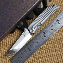 Ben Hanada S35VN blade folding knife Titanium handle outdoor camping hunting pocket knife EDC tool