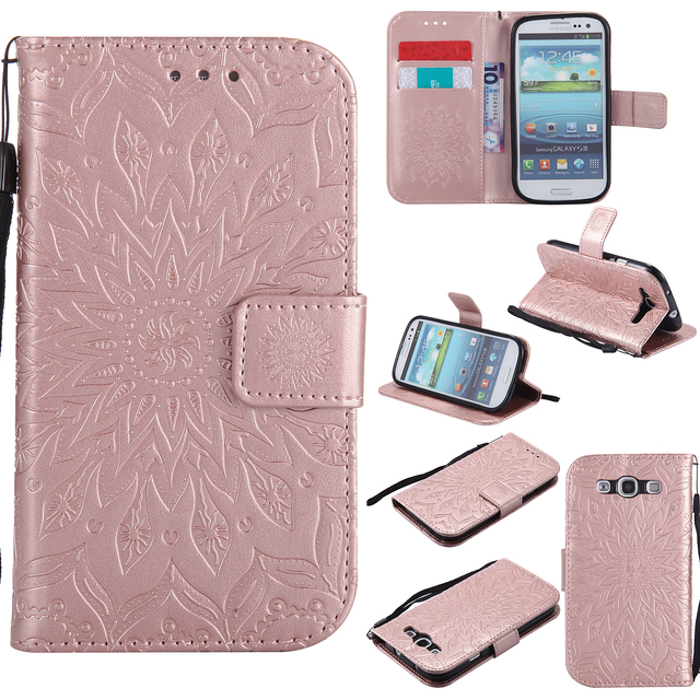 Flip Phone Case for Samsung Galaxy S3 Neo i9301 for GT-I9301 S III I9300 GT-I9300 Duos i9300i GT-I9301i back cover Cases