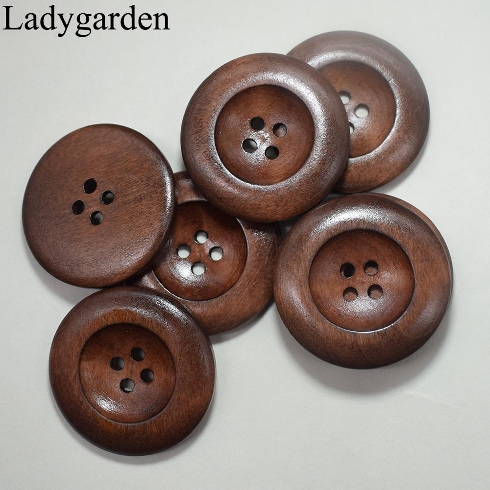 Jacket //Suit buttons round 4 hole Coat 6 sizes /& 7 colours clothing//craft