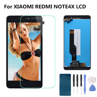 Original 5 5 For XIAOMI Redmi Note 4X LCD Display Touch Screen Digitizer Replacement NOTE 4X