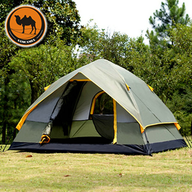 Free shipping automatic rainproof outdoor c&ing tent quick-opening tents 3-4 persons tent & Free shipping automatic rainproof outdoor camping tent quick ...