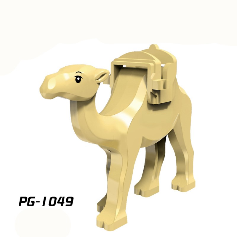 PG1049 Mini Dolls Single of the prince of Persia wang parts rare animal camel product Building