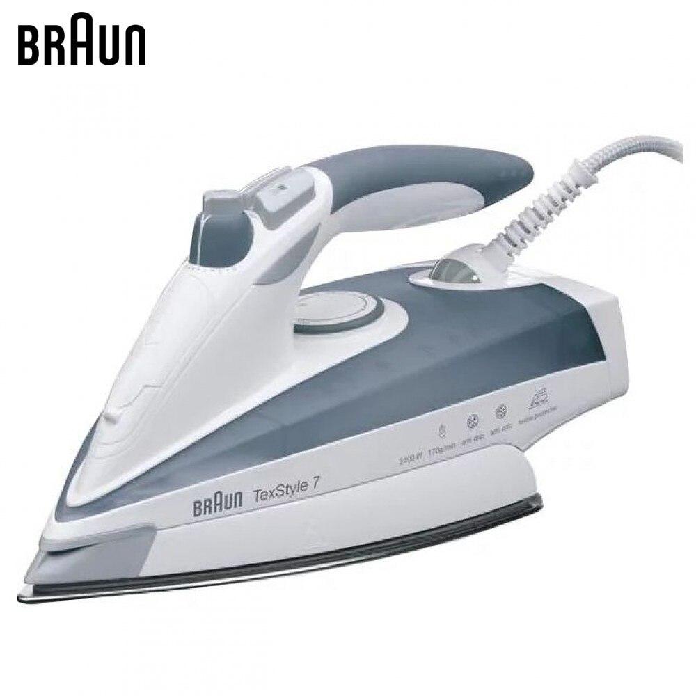 Electric Irons BRAUN TS775ETP steam iron steamer Laundry Appliances generator все цены