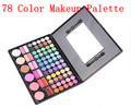 Free Shiping Cheap Beauty Product Series- 78 Color Eyeshadow / Cheek Blush /Pressed Powder/Lip Gloss Make Up Set  3#P78