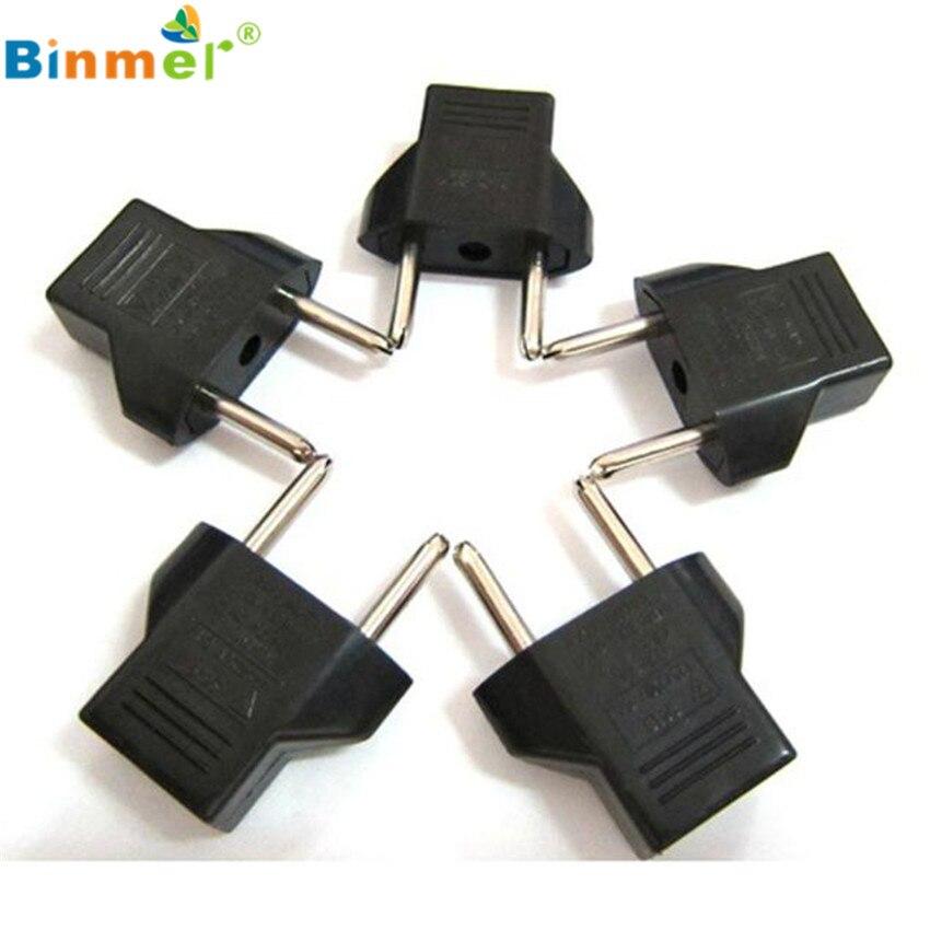 C88 1PC/2PCS/5PCS US to EU Travel AC Power Socket Plug Adapter Adapter Converter 2 Pin adaptateur adapter konverter adaptador