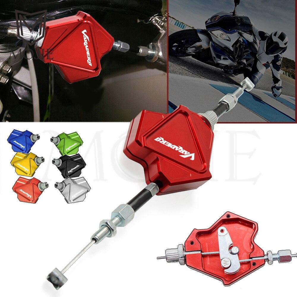 Мотоцикл CNC трюк рычаг сцепления легко тянуть кабель системы для Honda XL1000/V/VARADERO XL 1000 XL1000V 1999-2013 2000 2001 2002