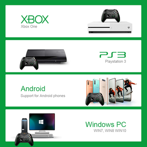 Image 3 - داتا الضفدع 2.4G وحدة تحكم لاسلكية ل Xbox One وحدة التحكم ل PS3 للهاتف أندرويد غمبد لعبة المقود للكمبيوتر Win7/8/10