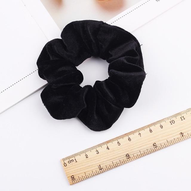 Velvet Scrunchie Hairband For Women Girls Elastic Hair Rubber Bands Hair Accessories Headband Gum Hair Tie Rope Ponytail Holder 6