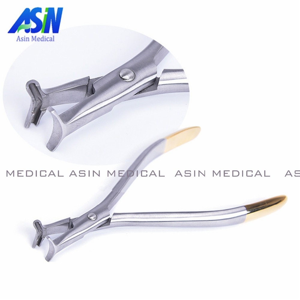 Orthodontic titanium wire bending pliers clamp end bend Pliers orthodontic materials