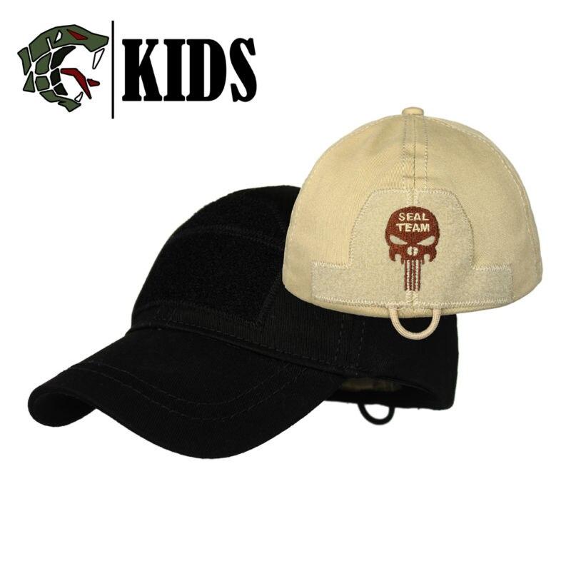 Prix pour TSNK Course Tactique Chapeau Casquette de baseball Pare-Soleil Sunhat Enfants Version Exquis Boîte D'emballage
