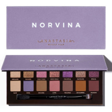 все цены на Anastasia Beverly Hills Palette NORVINA EYE SHADOW PALETTE Beverlying Hills Makeup Powder Makeup Palette Anastasia Beverly Hills