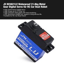 HOT! JX DC5821LV Waterproof Metal Gear Digital Servo with 21.8kg High Torque for RC Remote Control Car Boat Robot Model Vehicle