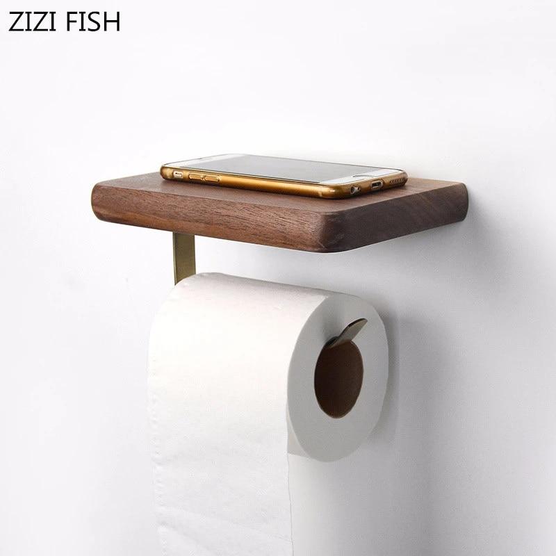 Toilet Paper Towel Holder Storage Box Toilet Roll Holder Bathroom Accessories
