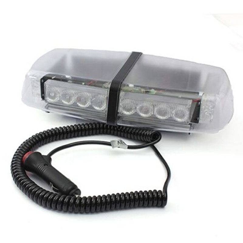 24W AMBER LED EMERGENCY RECOVERY STROBE FLASHING LIGHT BAR MAGNETIC BEACON 10 led led beacon magnetic bolt recovery flashing warning strobe light lightbar amber