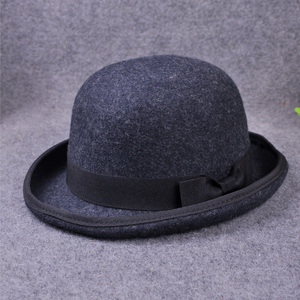 Image 5 - 100% Wool Mens Bailey Ofhollywood Fedora Hat For Gentleman Crushable Hantom Dad Bowler Hat Luxury Billycock Hats
