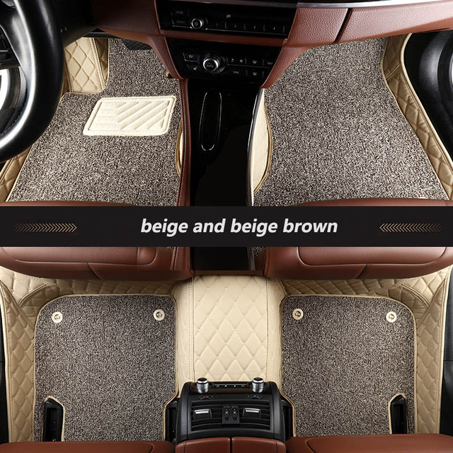 kalaisike Custom car floor mats for Land Rover All Models Discovery 3 4 5 Rover Range Evoque Sport Freelander auto accessories