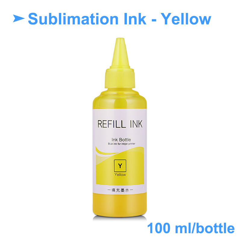 US $16 18 |400ML Universal Sublimation Ink For Epson Inkjet Printers Heat  Transfer Ink Heat Press Sublimation Ink Used For Mug Cup/T Shirt-in Ink