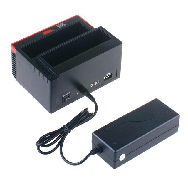 2016 PCAccessories Viaje Lo 3 Disco Duro Estación de Acoplamiento USB 2.0 Multi Divertido Zion E Tarjeta SATA IDE