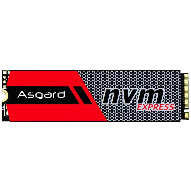 Meilleure vente Asgard 3D NAND 256 GB 1 to M.2 NVMe pcie SSD disque dur interne pour ordinateur portable bureau haute performance PCIe NVMe