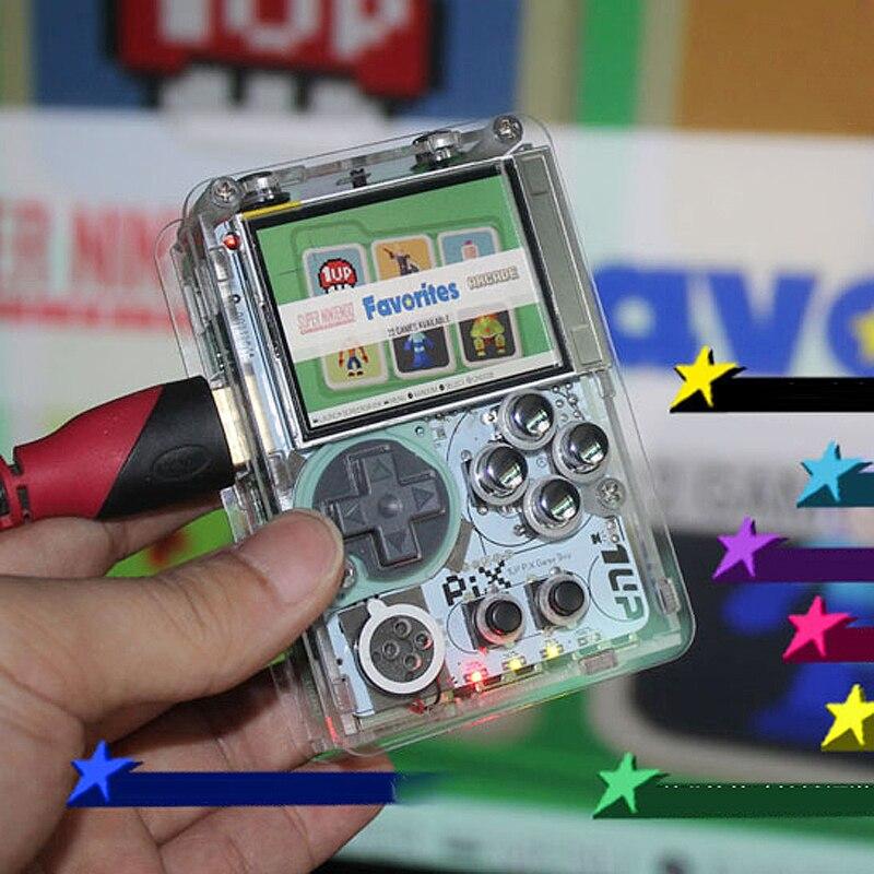 Poche mini arcade jeu 2 pouce HD IPS LCD Raspberry Pi 3 console poignée 2.2 pouce HD IPS LCD/ HDMI out mettre TV sur 7 ~ 20 jour