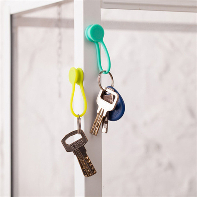 Soft Silicone Magnetic Cable Organizer (10pcs)