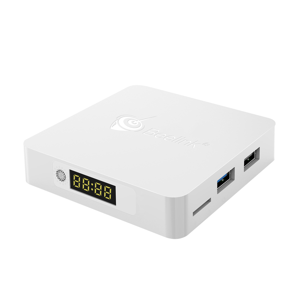 Beelink A1 RK3328 TV Box Android 7.1 4G RAM 16G ROM 2.4G / 5.8G WiFi Set Top Box Bluetooth 4.0 USB 3.0 1000M LAN 4K Media Player 你好 法语4 学生用书 配cd rom光盘