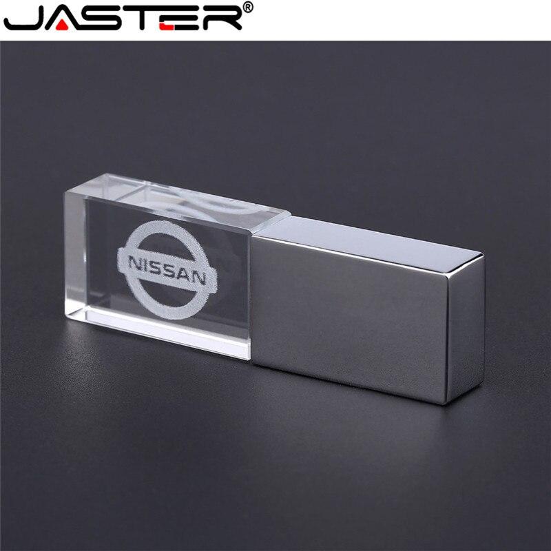 Memory-Stick Usb-Flash-Drive U-Disk Pendrive 4gb JASTER Crystal External-Storage 16GB
