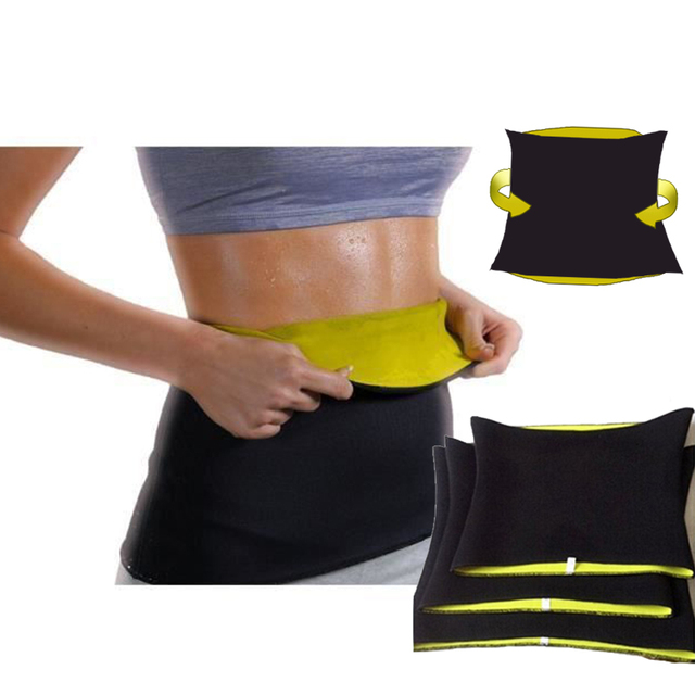 Waist Band Gym Fitness Sports Exercise Waist Support Pressure Protector Body Shapewear Belt Slim Training Sweat For Women 2