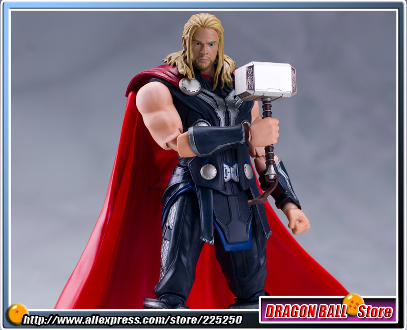 The Avengers 2 - Age of Ultron Original BANDAI Tamashii Nations SHF/ S.H.Figuarts Action Figure - Thor original full set action figure mms357 avengers age of ultron 1 6th scarlet witch wanda django maximoff figure doll model