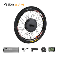 26inch 48V 1500W Cassette Electric Bike Motor Wheel e Bike Conversion Kit 1500W CST Rear Hub Motor Kit Electric Bicycle Kit