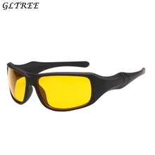 GLTREE High Quality Frosted Frame Night Vision Driving Sungl