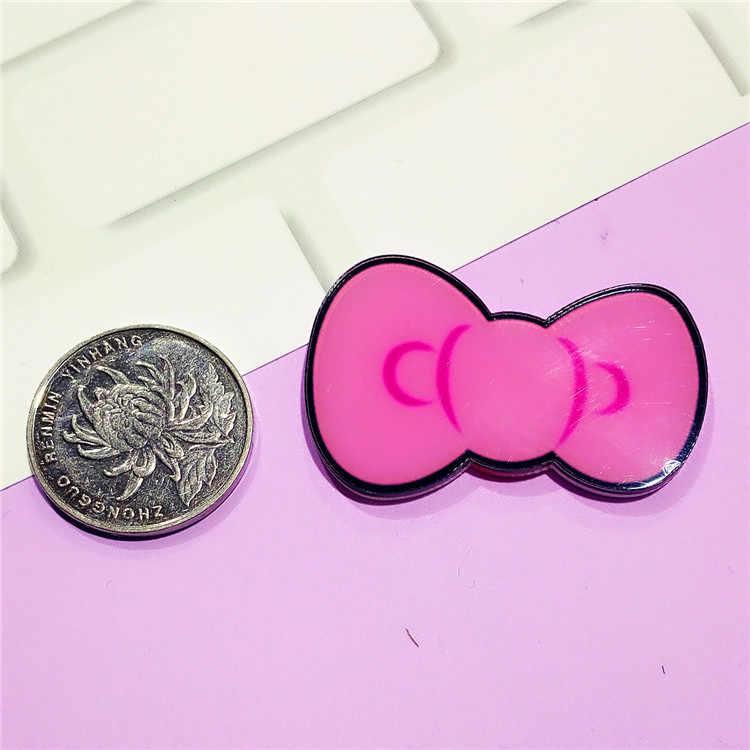 1 Pcs שפתון bowknot סיכות לנשים ילדים דש סיכות נעלי בגדי קישוט תגי בני בנות מסיבת הווה