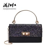 Women Handbags Famous Brand Women Messenger Bag Chains PU Leather Women Shoulder Bag Fashion Small Flap Bags bolsos mujer SH1126