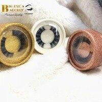 Custimize case round put logo strip lashes cases 10pcs with lashes luxury professional big eyes secret boxes free shipping
