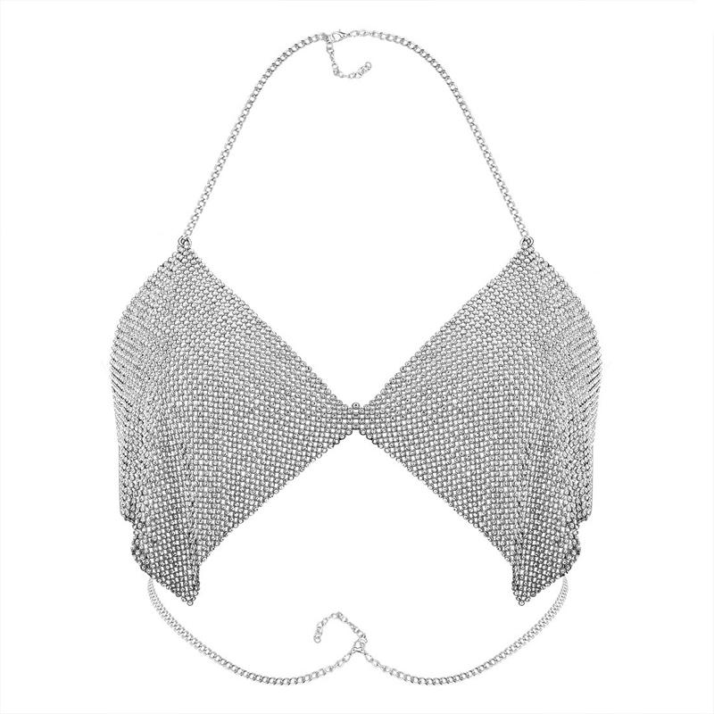 HTB1cQhTRVXXXXXlaFXXq6xXFXXXV Contouring Crystal Beaded Bikini Bra Chain for Event Party and Functions Women Boho Bra Body Chains