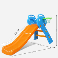 indoor small plastic slide chute accessories children paradise Children plastic playground slide kindergarten playground toys