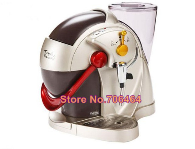 Fully automatic caffitaly capsule coffee machine Red espresso capsule  coffee maker Latte cappuccino electric kitchen appliance 01bbb380934a