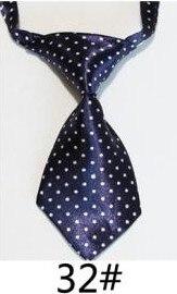 Модный галстук с принтом для мальчиков; Детский галстук; маленький галстук - Цвет: 32