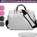 Fashion Brand laptop bag 15.6 14 inch Notebook messenger shoulder bag for Men Women Bag Bookbag Computer Crossbody Carry Sleeve