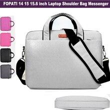 Fashion Brand laptop-tasche 15,6 14 zoll Notebook messenger schultertasche für Männer Frauen Tasche Bookbag Computer Crossbody Tragen Hülse