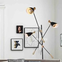 New PL9697 Creative Nordic Post-modern Floor Lamp Eye-protecting LED Study Room Living Room Sofa Villa Model Room Art Floor Lamp nordic post modern eye fishing light led remote control living room sofa villa floor lamp for bedroom livingroom lighting