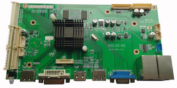 4 k lcd controller board driver board support DP signal input, DVI input, two HDMI input, a VGA input; DP signal output. цена и фото