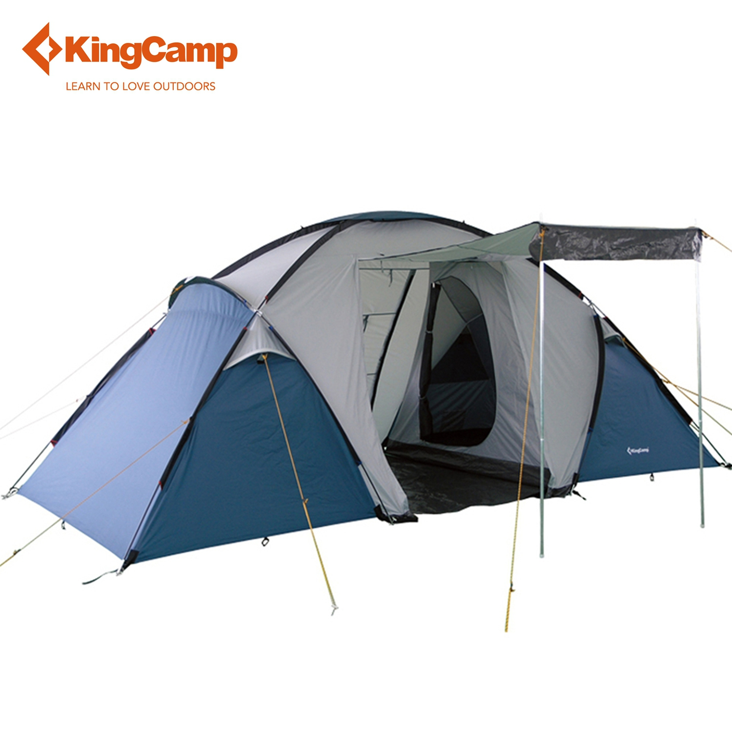 KingCamp Bari Fire-resistant 4-Person,3-Season outdoor Tent for Family Camping outdoor research silencer fire resistant gloves